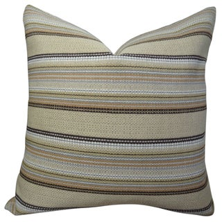 Plutus Camp Evergreen Handmade Double-sided Throw Pillow