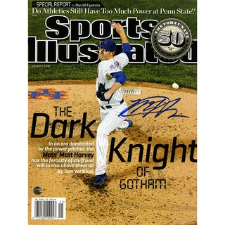 Matt Harvey Signed 5/20/2013 Sports Illustrated Magazine