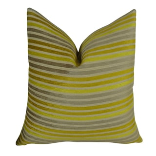 Plutus Fork Valley Handmade Throw Pillow