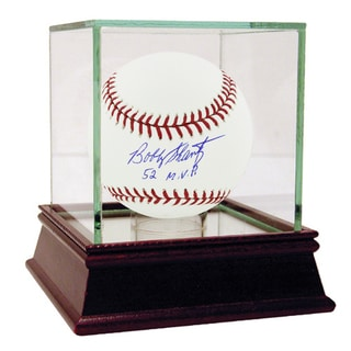 """Bobby Shantz Signed MLB Baseball w/ """"52 MVP"""" insc"""