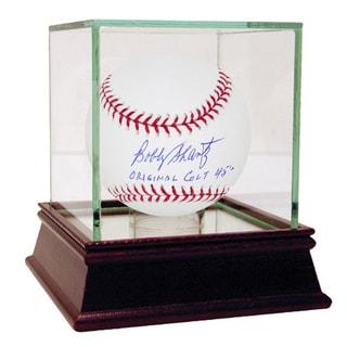 "Bobby Shantz Signed MLB Baseball w/ "" Original Colts 45' ""Insc"