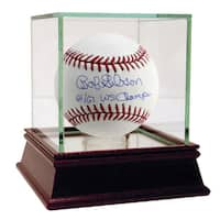 "Bob Gibson Signed MLB Baseball w/ ""64/67 WS Champs"" Insc."