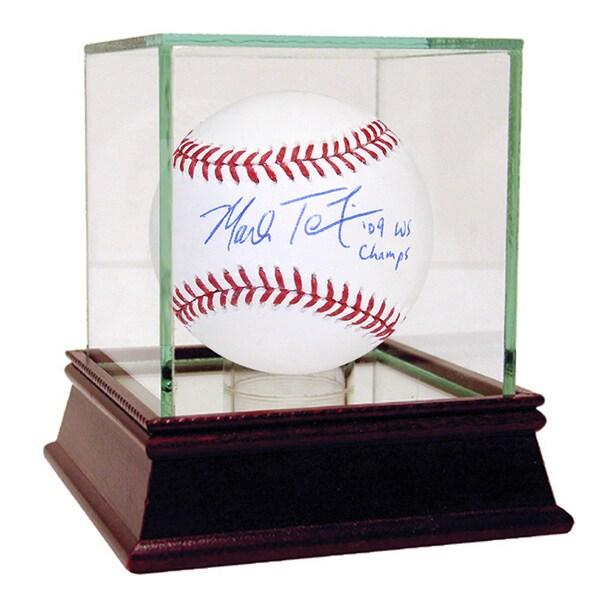 "Mark Teixeira Signed MLB Baseball w/ ""09 WS Champs"" Insc."