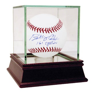"""Bobby Cox Signed MLB Baseball w/ """"161 Ejections"""" insc (MLB Auth)"""
