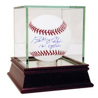 "Bobby Cox Signed MLB Baseball w/ ""161 Ejections"" insc (MLB Auth)"