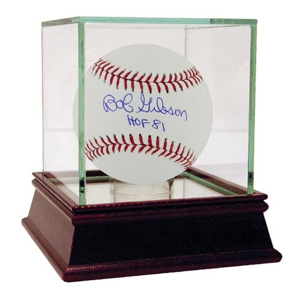 Bob Gibson Signed MLB Baseball w/ HOF Insc