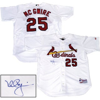 Mark McGwire Rawlings home Cardinals Jersey ltd of 583 (OA AUTH)