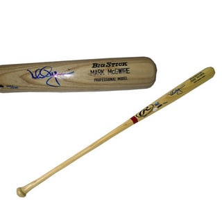 Mark McGwire Rawlings Game Model Bat ltd of 500 (OA Cert)