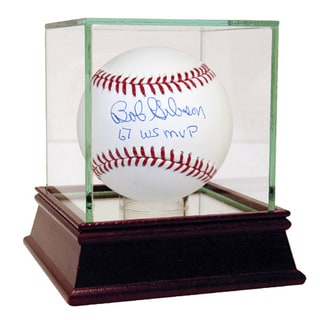 "Bob Gibson MLB Baseball w/ ""67 WS MVP"" Insc."