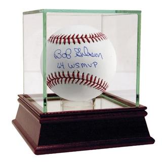"Bob Gibson MLB Baseball w/ ""64 WS MVP"" Insc."