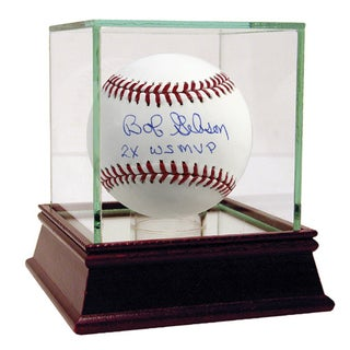 "Bob Gibson MLB Baseball w/ ""2x WS MVP"" Insc"