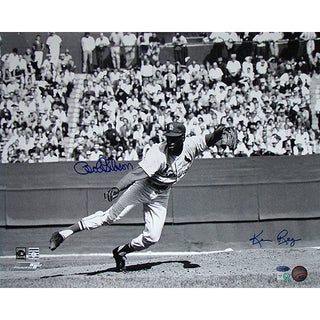 Bob Gibson Follow Thru Horizontal 16x20 Photo Signed by Photographer Ken Regan
