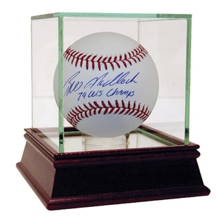 "Bill Madlock Autographed Baseball w/ ""79 WS Champs"" Inscription"