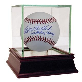 "Bill Madlock Autographed Baseball w/ ""4x Batting Champ"" Inscription"