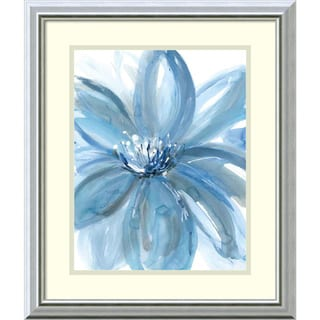 Rebecca Meyers 'Water Petals' Framed Art Print 17 x 20-inch