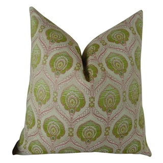 Plutus Tulip Handmade Double-sided Throw Pillow