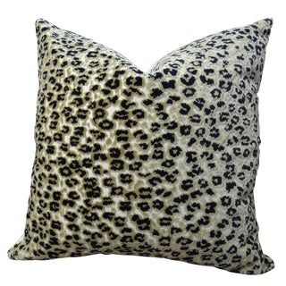 Plutus Cheetah Handmade Double-sided Throw Pillow