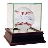 "Phil Niekro Signed MLB Baseball w/ ""Beware of Knuckler"" Insc"