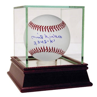 Phil Niekro Signed MLB Baseball w/ 3,342 Ks Insc