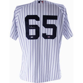 Phil Hughes Authentic Home Yankees Jersey - Signed On Back Number (MLB Auth)