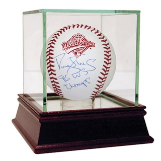 "Darryl Strawberry Signed 1996 World Series Baseball w/ ""96 WS Champs"" Insc"