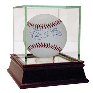 Darryl Strawberry MLB Baseball w/ROY insc (MLB Auth)