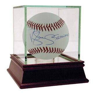 Darryl Strawberry MLB Baseball w/ Strawman Insc