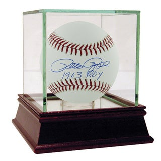 "Pete Rose Signed MLB Baseball w/"" '63  ROY"" Insc."