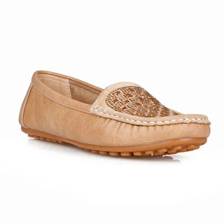 Com Feite Jamaica-02 Slip-on Women's Embellished Loafers