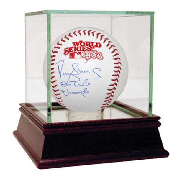 "Darryl Strawberry 1986 World Series Baseball w/ ""86 World Champs"" Insc"