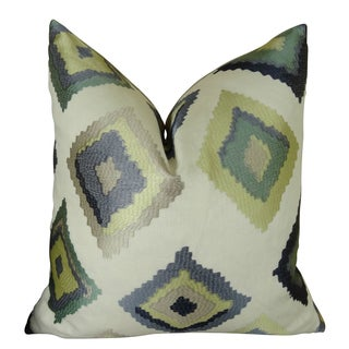 Plutus Native Trail Dew Handmade Double Sided Throw Pillow