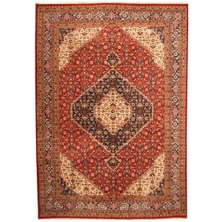 Herat Oriental Indo Hand-knotted Bidjar Wool Rug (8'2 x 11'8)