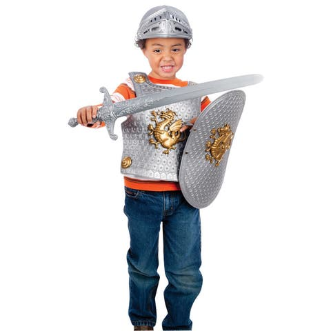Toysmith Guardian Knights Deluxe Armor Set Colors May Vary