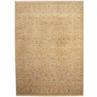 Herat Oriental Indo Hand-knotted Kashan Wool Rug - 9' x 12'