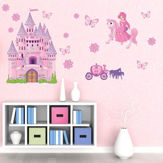 Kids Princess Set Nursery Girls Wall Decal Sticker Mural Vinyl Wall Art