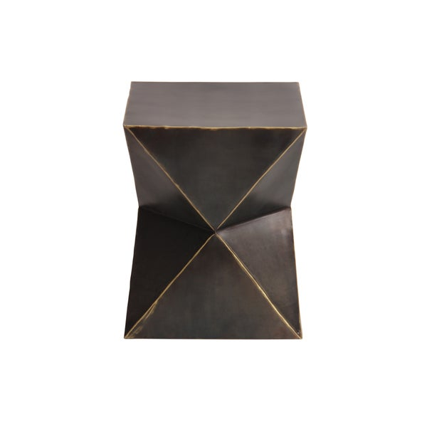 Rockwell Bronze Garden Stool   Free Shipping Today   Overstock.com    18194927