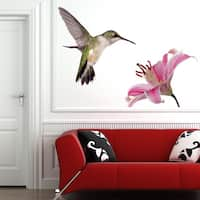 Hummingbird Animal Wall Decal Sticker Mural Vinyl Decor Wall Art