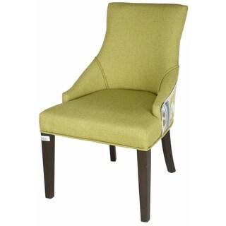 Green Retro Accent Chair