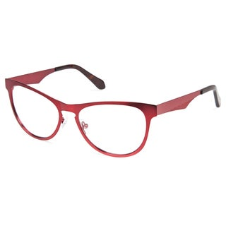 Cynthia Rowley Eyewear CR5031 No. 94 Oxblood Cat-Eye Metal Eyeglasses