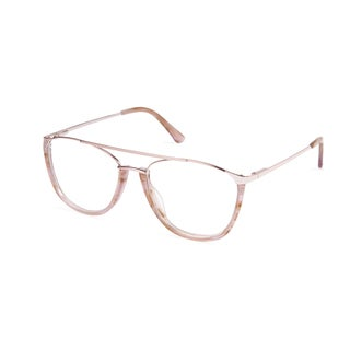 Cynthia Rowley Eyewear CR 6022 No. 76 Blush Aviator Metal Eyeglasses