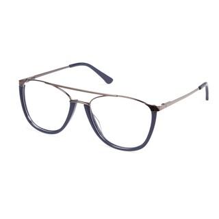 Cynthia Rowley Eyewear CR 6022 No. 76 Navy Aviator Metal Eyeglasses