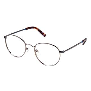 Cynthia Rowley Eyewear CR5008 No. 24 Gunmetal Round Metal Eyeglasses