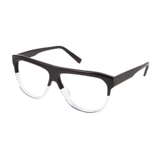 Cynthia Rowley Eyewear CR 6019 No. 15 Black/Clear Aviator Plastic Eyeglasses
