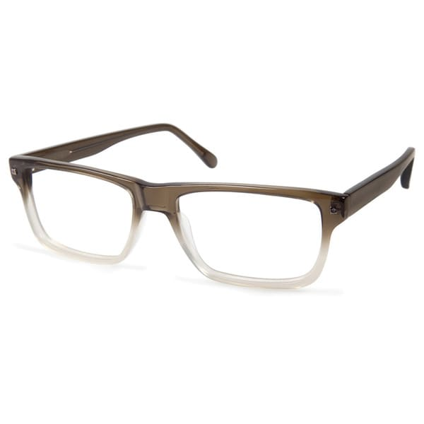 Green Eyeglass Frames Plastic : Cynthia Rowley Eyewear CR6001 No. 54 Green Fade Rectangle ...