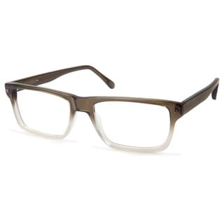Cynthia Rowley Eyewear CR6001 No. 54 Green Fade Rectangle Plastic Eyeglasses