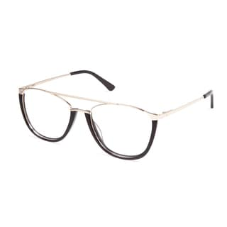Cynthia Rowley Eyewear CR 6022 No. 76 Black Aviator Metal Eyeglasses
