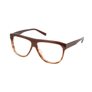 Cynthia Rowley Eyewear CR 6019 No. 15 Honey Stripe Aviator Plastic Eyeglasses