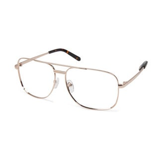 Cynthia Rowley Eyewear CR6012 No. 06 Gold Aviator Metal Eyeglasses