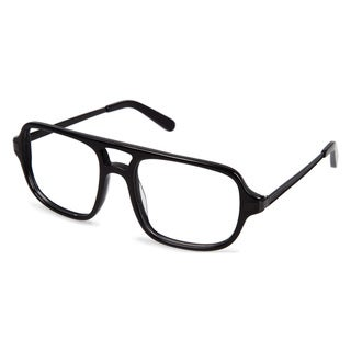 Cynthia Rowley Eyewear CR6000 No. 97 Black Aviator Plastic Eyeglasses