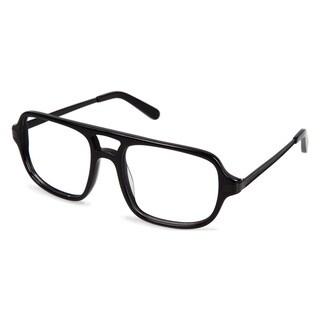 Cynthia Rowley Eyewear CR6000 No. 97 Black Aviator Plastic Eyeglasses